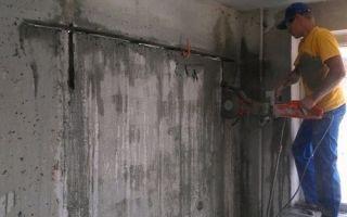 Методы резки дверных проёмов в стенах из разных материалов