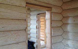 Виды обсады (окосячки) в деревянном доме