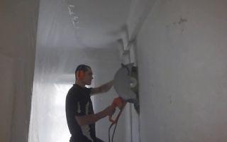 Обустройство дверного проёма в несущей стене