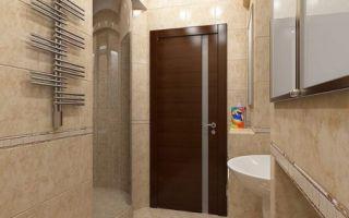 Устанавливаем двери в ванную и туалет своими руками