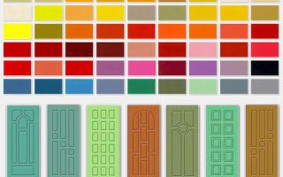 Выбираем краску и лак для межкомнатных дверей