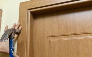 Секреты установки наличников на двери своими руками