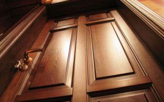 Особенности и преимущества филёнчатых дверей