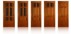 Филенчатые двери из массива сосны