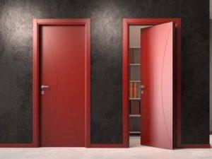 Цветные рото двери