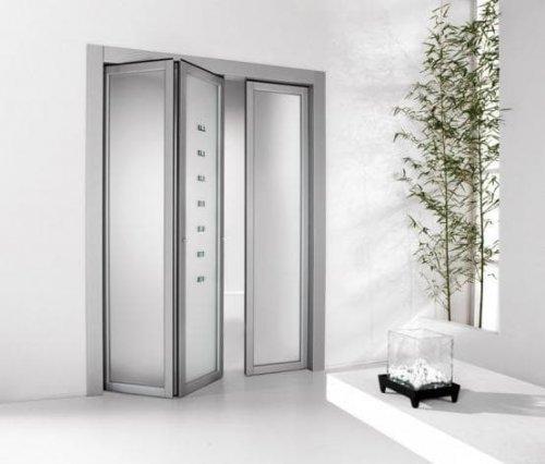 алюминиевые двери книжка