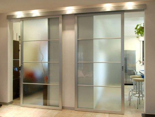 алюминиевые двери купе