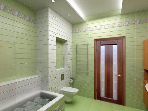 двери для ванной покрытые пленкой ПВХ
