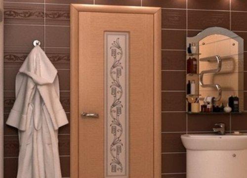 ламинированные двери для ванной