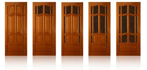 филёнчатые двери из сосны
