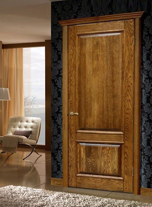 двери из массив сосны