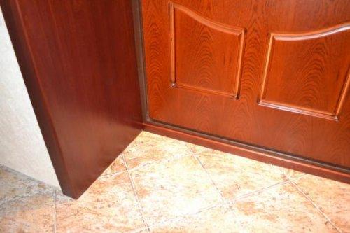 отделка дверного проема МДФ панелями