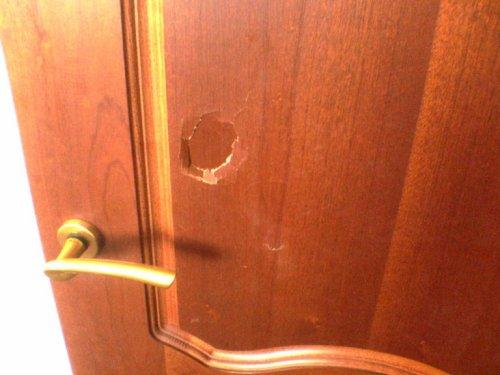 поломка двери мдф