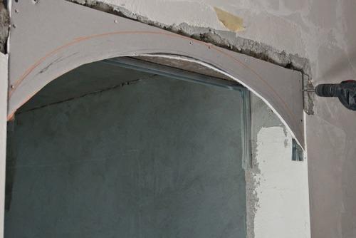 арка из гипсокартона